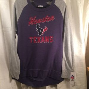 Womens NFL Team Apparel Houston Texans Sweatshirt